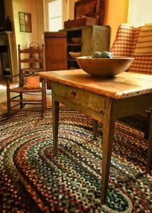 clean braid rug